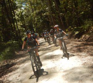 Tri adventure group mountain biking photo